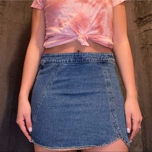 High waisted pacsun tulip skirt